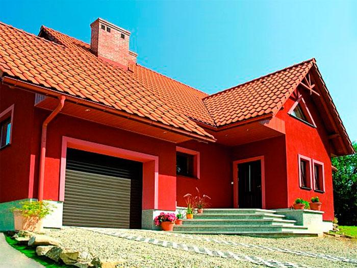 использование фасадной краски
